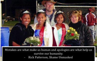Mistakes and Apologies